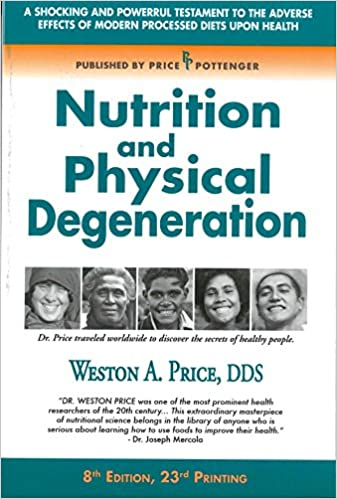nutrition and physical degeneration cover